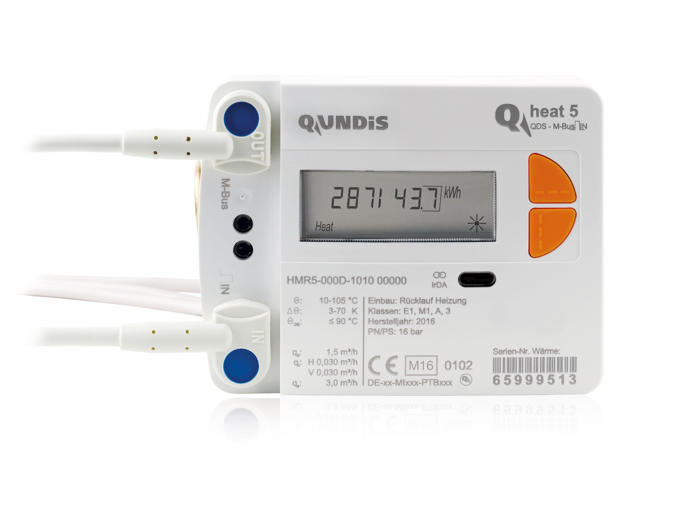 Wärmezähler Q heat 5 M-Bus/Impuls-IN