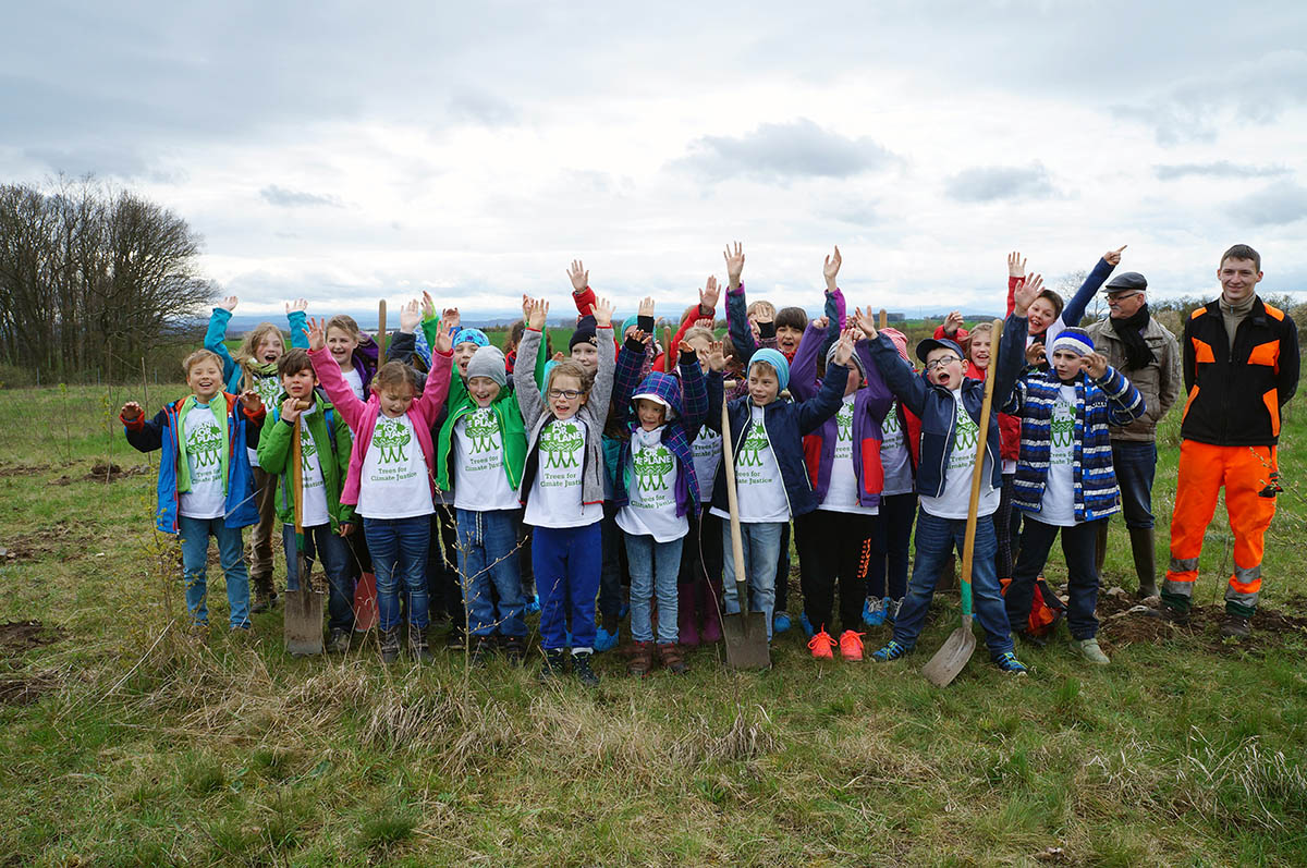 QUNDIS Kinderakademie 2016 mit Plant-for-the-Planet