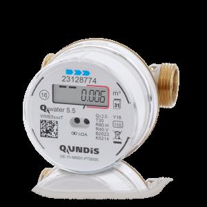 Elektronik vidalı tip Q water 5.5 su sayacı